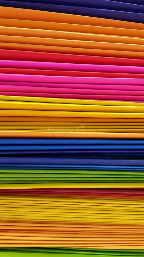 artikelfärghand - gjort papper arkivbilder