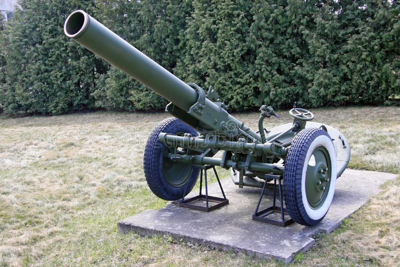 Artillería fotos de archivo