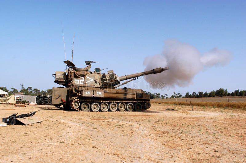 Artillerikår - Israel arkivfoto