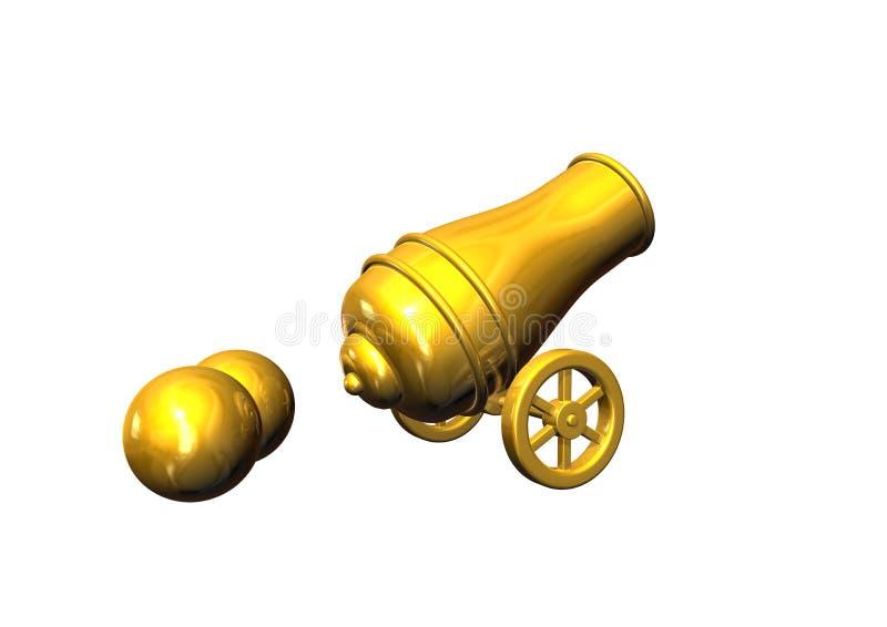 Download Artillery stock illustration. Image of battle, cannon - 11729326