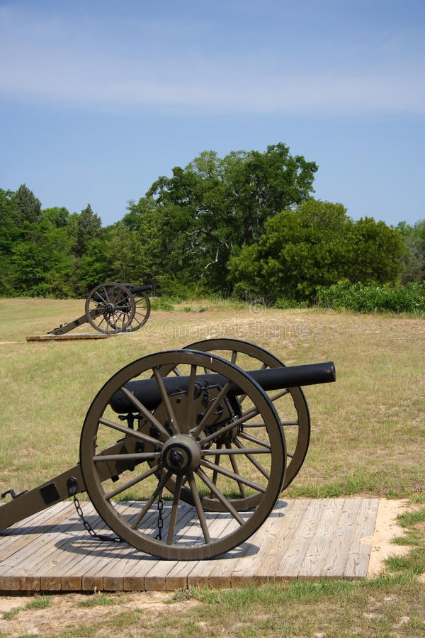 Download Artillery stock image. Image of confederate, monument - 19682989