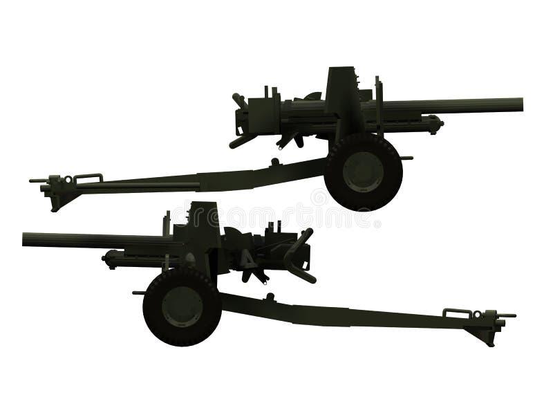Download Artillery stock illustration. Illustration of cannon - 20609093