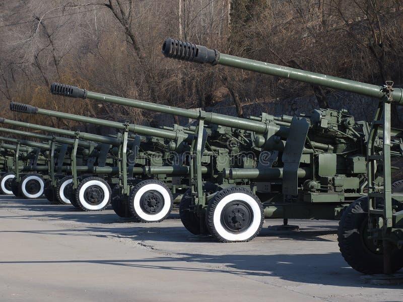 Artillery,Chinese Army Stock Photos