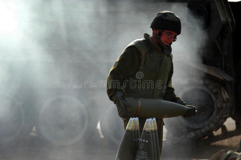Artillery Corps - Israel stock images