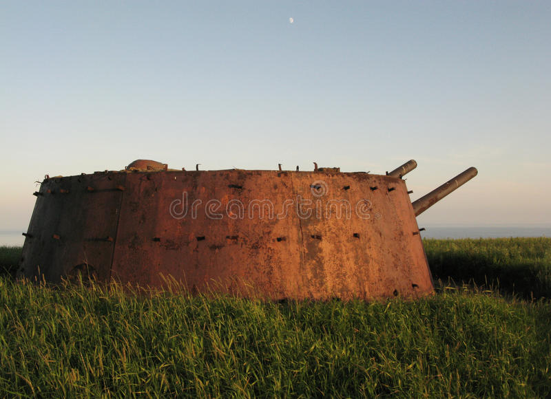 Download Artillery On The Island Of Askold Stock Image - Image: 26309241
