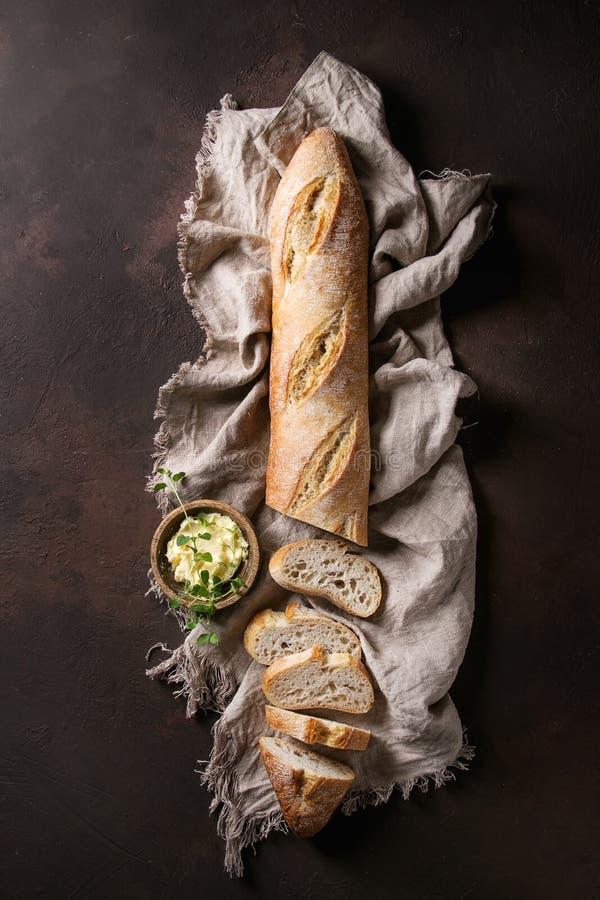 Free Artisan Baguette Bread Royalty Free Stock Image - 113299266
