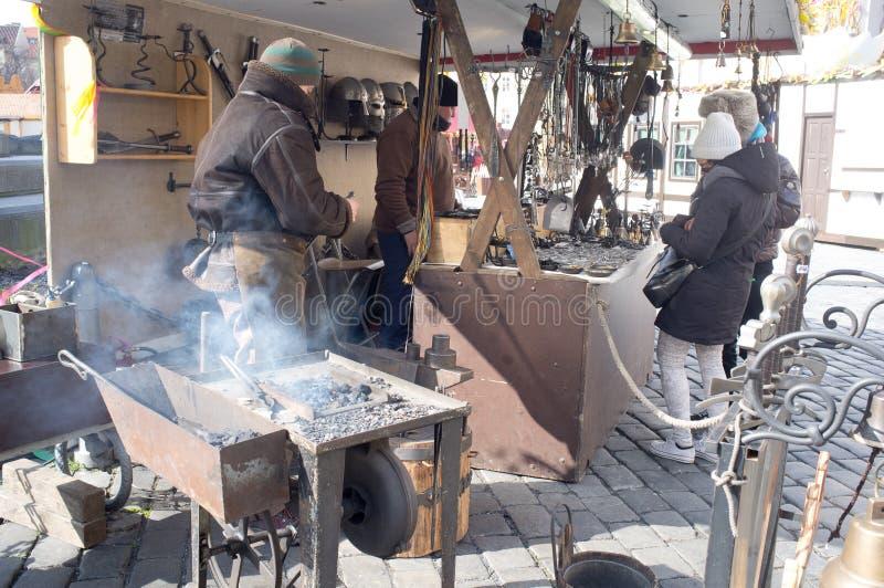 Download Iron Craftsman In Prague Editorial Photo - Image: 30131356