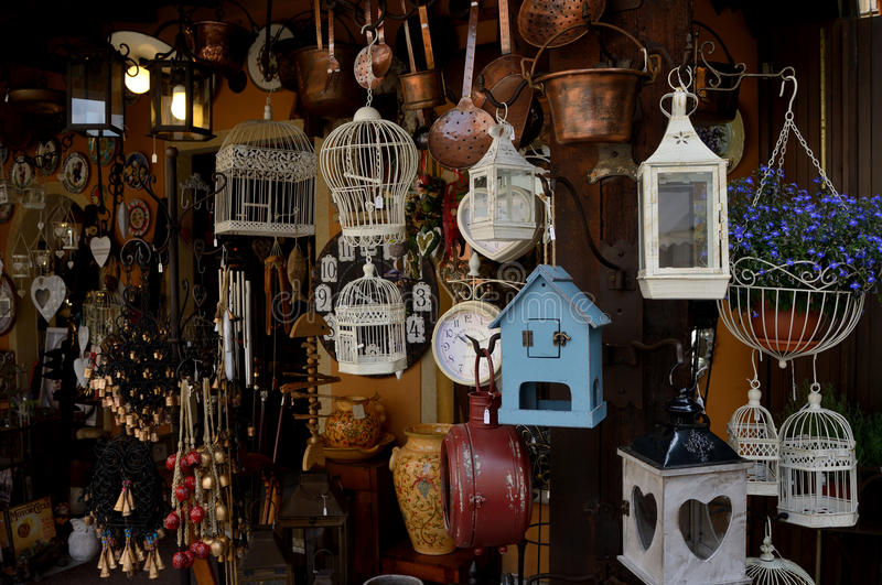 Download Artisan Shop In A Typical Village In Italy Stock Photo - Image: 41460718