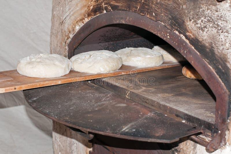 Artisanaal Baker stock foto