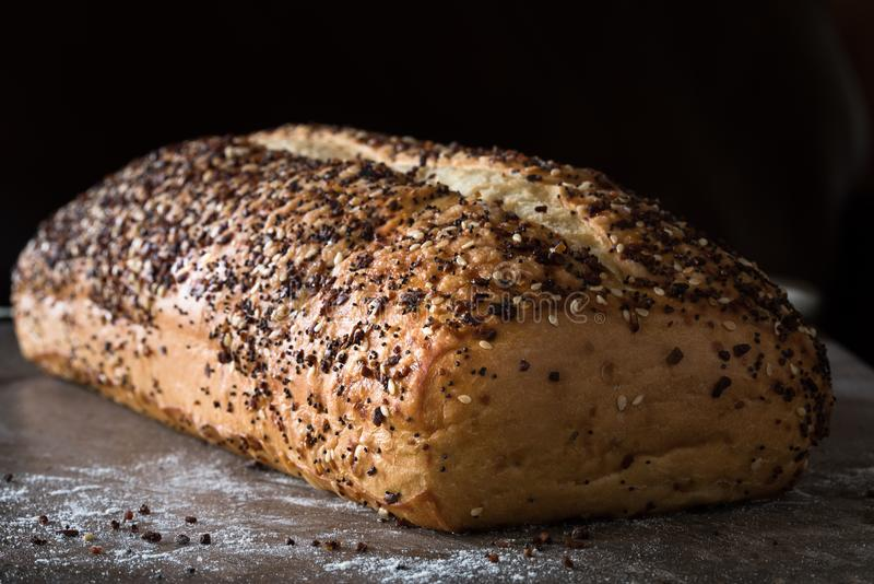 Artisanaal brood royalty-vrije stock afbeeldingen
