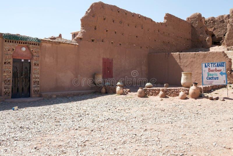 Artisanal магазин улицы Berber стоковое изображение rf