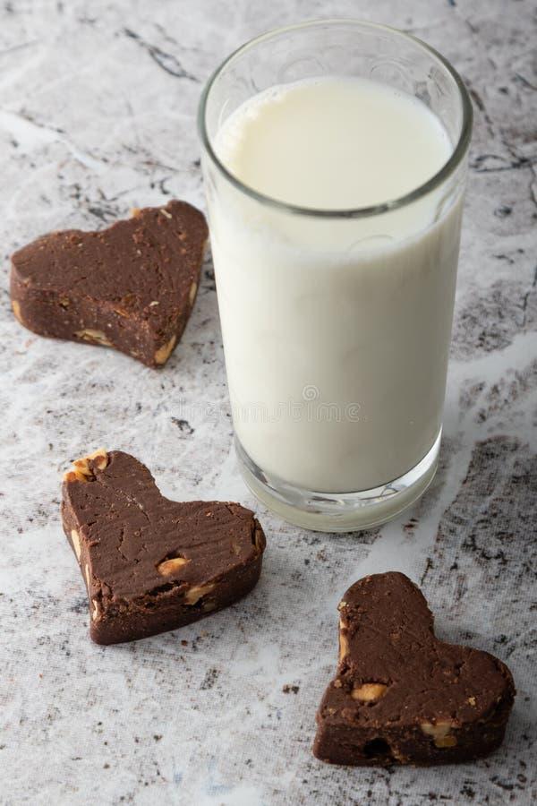 Handmade gourmet milk chocolate dessert snack stock photography