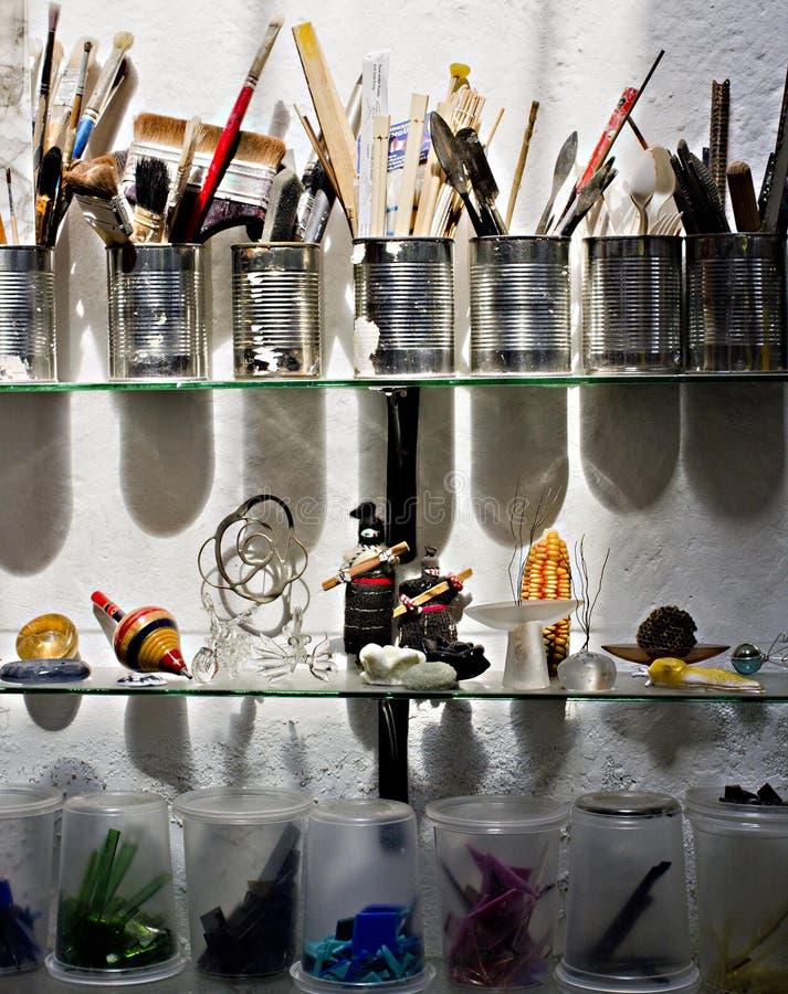 Artisanale studio stock afbeeldingen