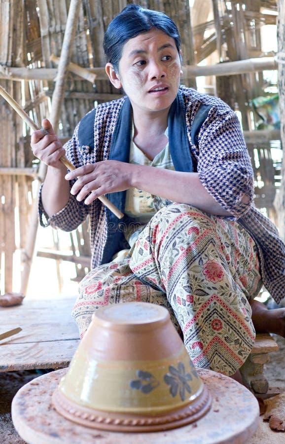 Artisane birmanne, Myanmar photos stock
