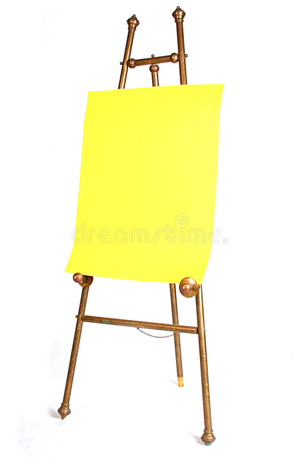 Download Artist antique easel stock image. Image of draw, copy - 2067517