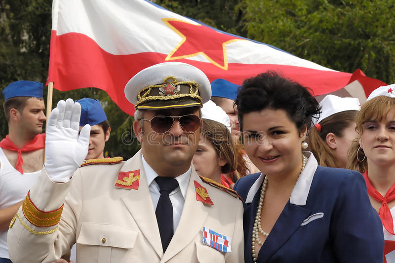 Download Artist As Josip Broz Tito And Jovanka Broz Editorial Photography - Image: 14825307