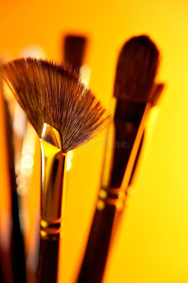 Artist Brushes stock photos