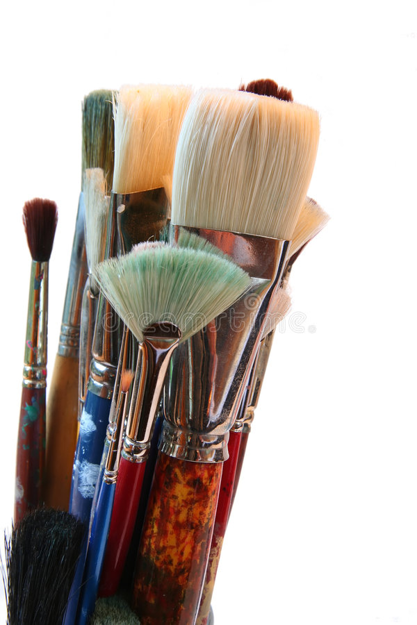 Download Artist brushes stock image. Image of painter, palette - 1413199