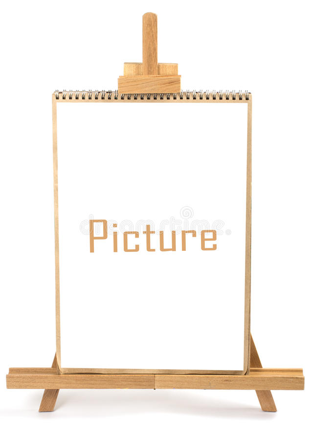 Artist easel and frame stock image. Image of hand, nature - 25648087