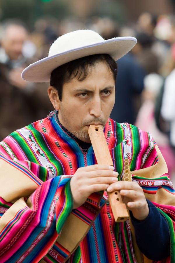 Artist from Ecuador royalty free stock photos
