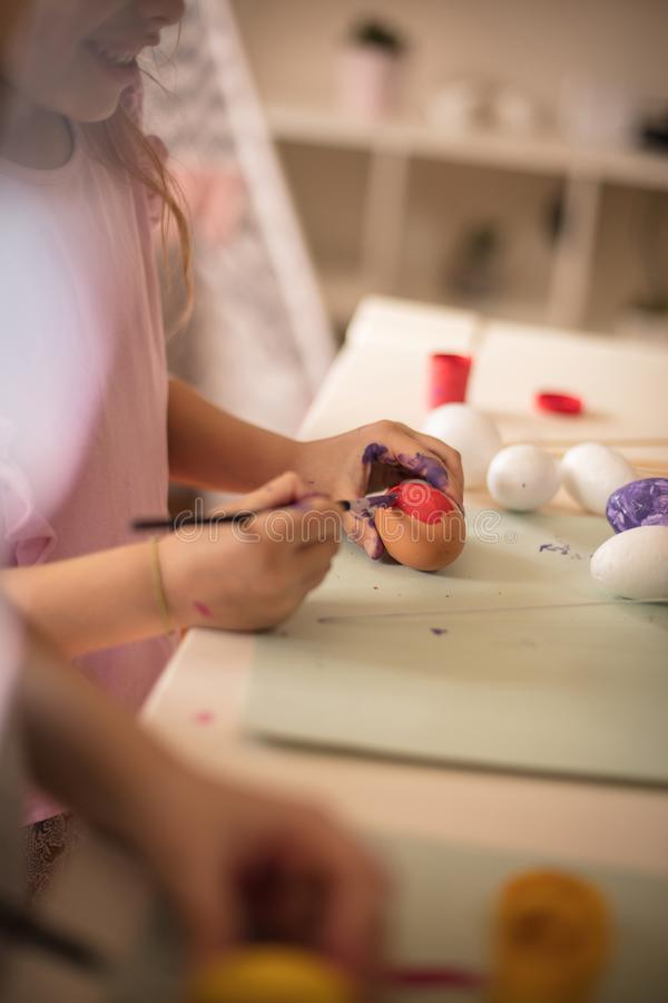Artist in the making royalty free stock images