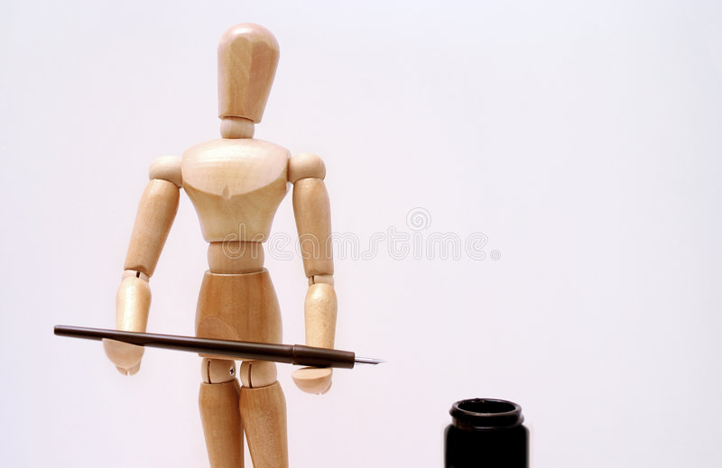 Artist mannequin royalty free stock photo