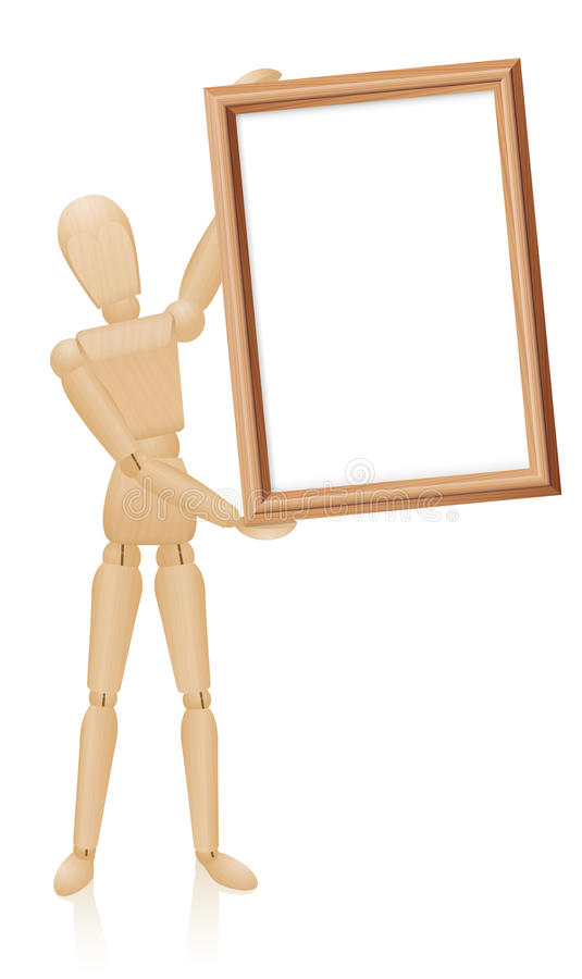 Free Artist Mannequin Blank Board Stock Photography - 61703972