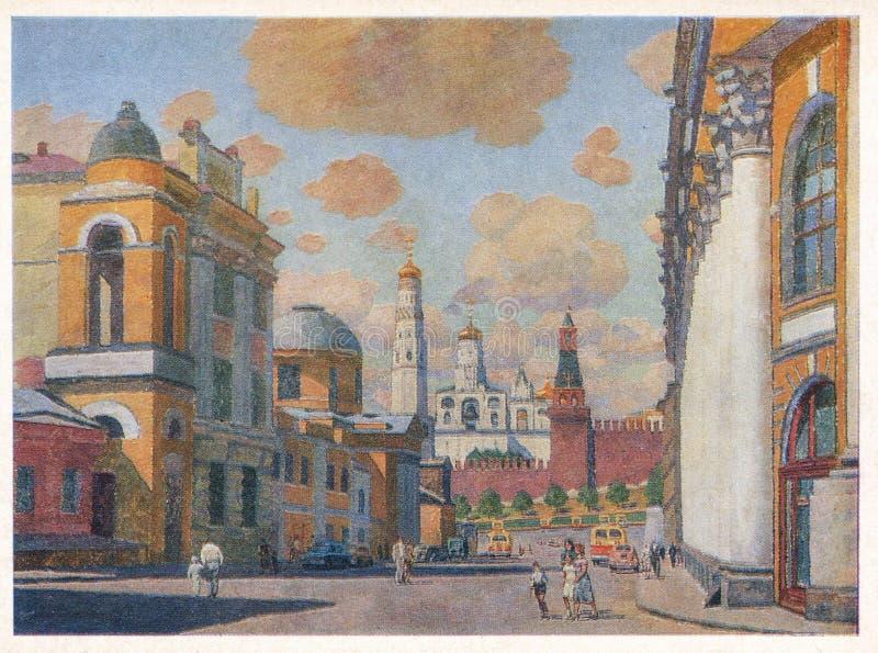 Artist Manuilov Razin Street royaltyfria foton