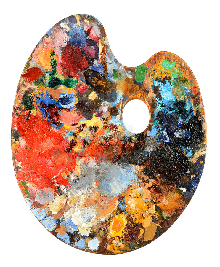 Free Artist Palette Stock Images - 28956694