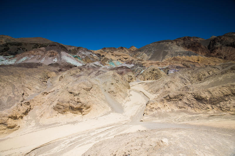 Artist Palette Death Valley National Park royalty free stock images