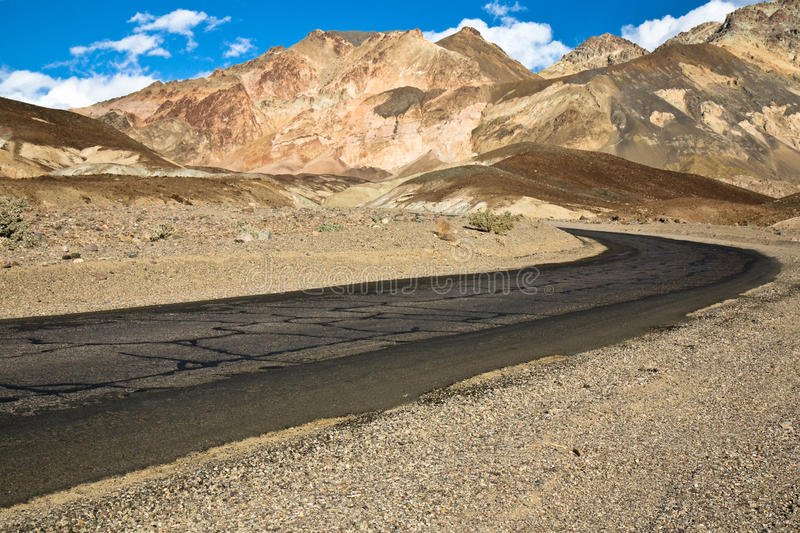 Download Artist Palette Drive In Death Valley Stock Image - Image: 9522661