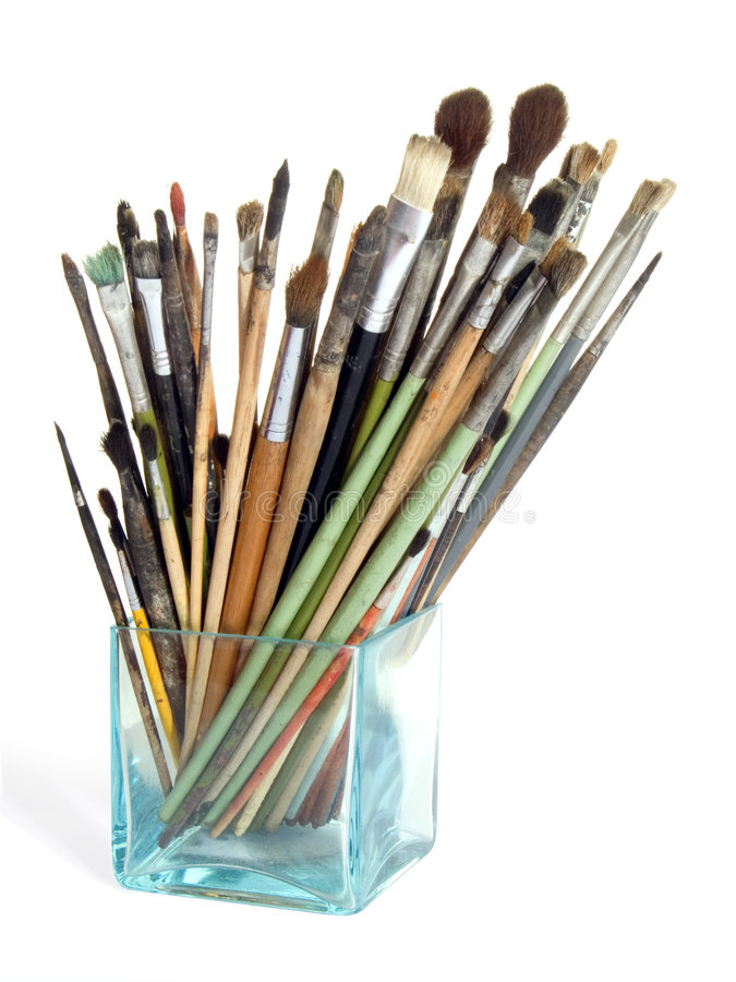 Free Artist S Brushes Royalty Free Stock Photo - 2524215