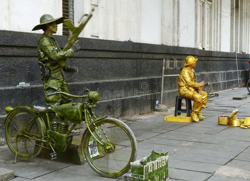 Artista de la calle imágenes de archivo libres de regalías