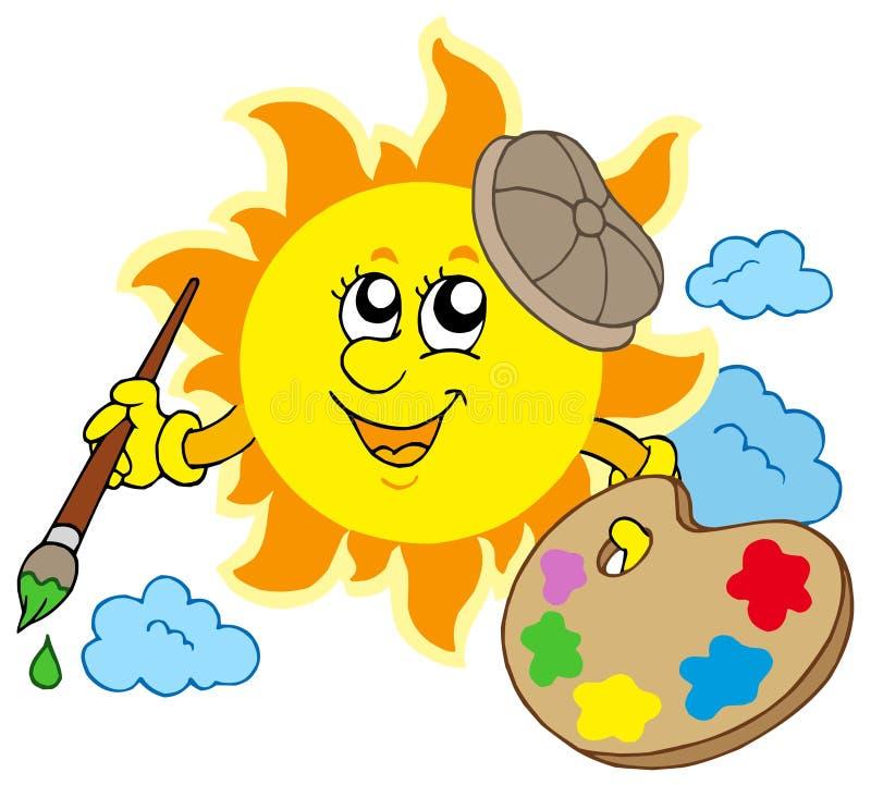 Artista De Sun Imagens de Stock Royalty Free