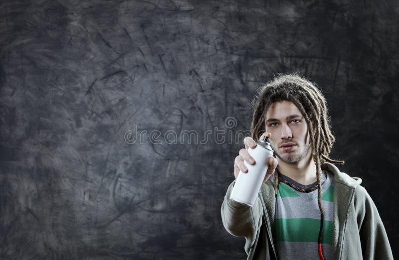 Artista dei graffiti immagine stock
