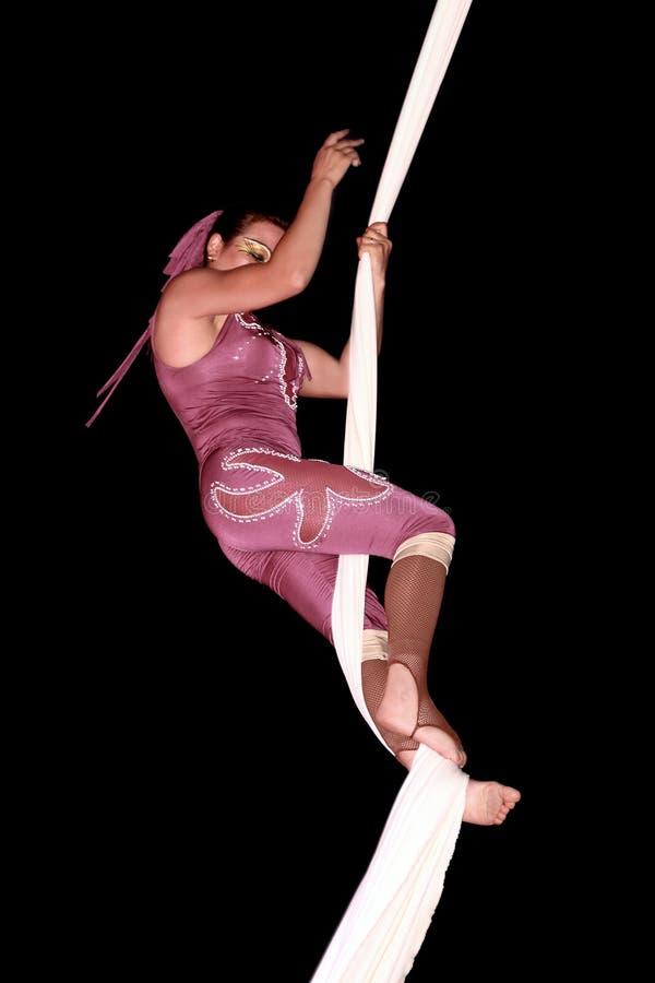 Artista del circo fotografie stock libere da diritti