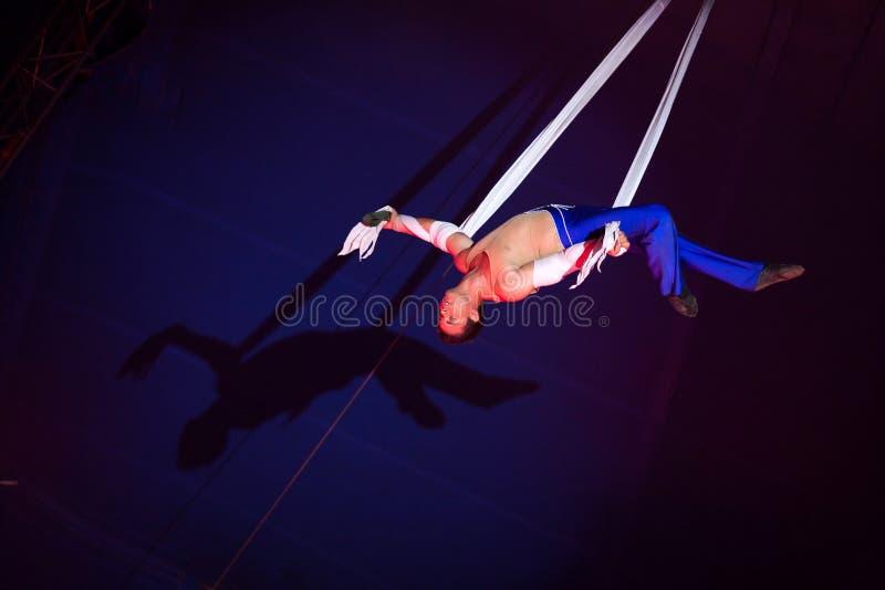 Artista del circo fotografía de archivo libre de regalías