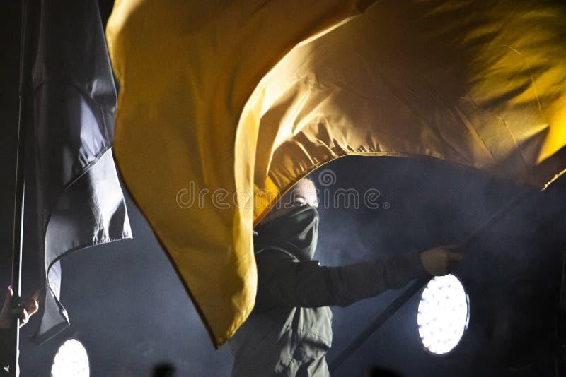 Artista di Diogo Piçarra che esegue sul festival di musica immagine stock