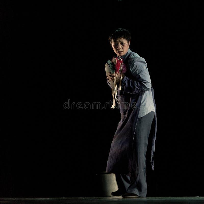 Artista famoso Tian Mansha di opera di cinese fotografia stock libera da diritti