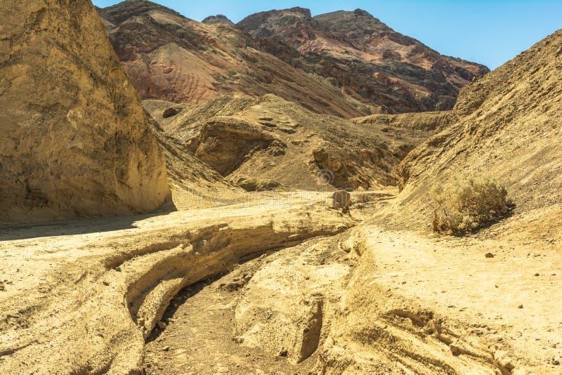 Artista Palette en el parque nacional de Death Valley, California fotografía de archivo libre de regalías