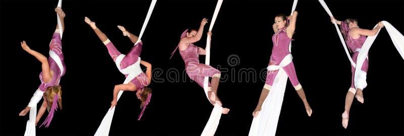 Artistas do circo fotos de stock royalty free