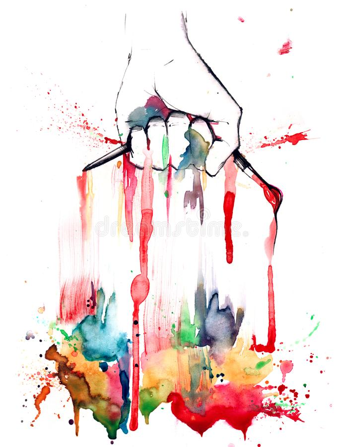 artiste ilustracji
