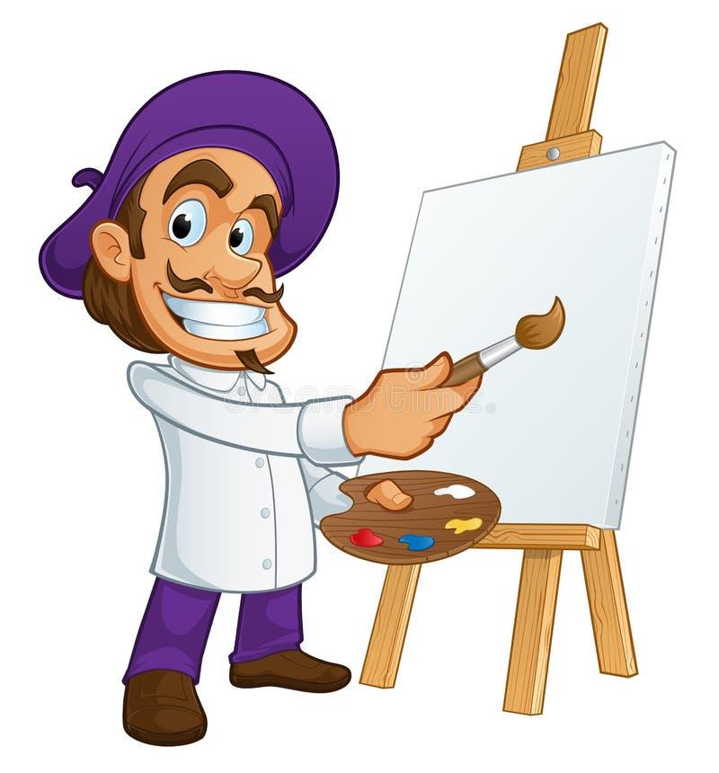 artiste royalty ilustracja