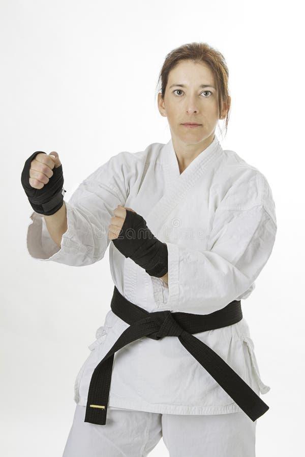 Artiste d'art martial photos stock