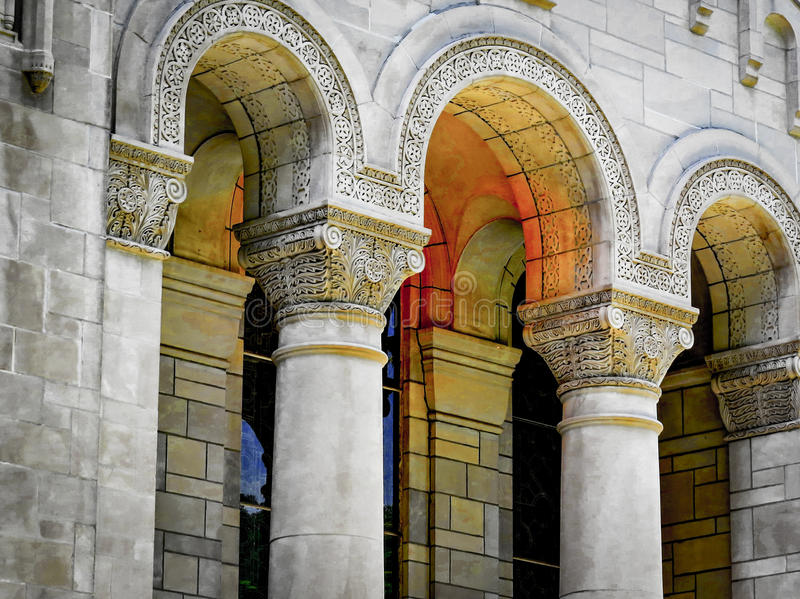 Artistic Arches royalty free stock photo