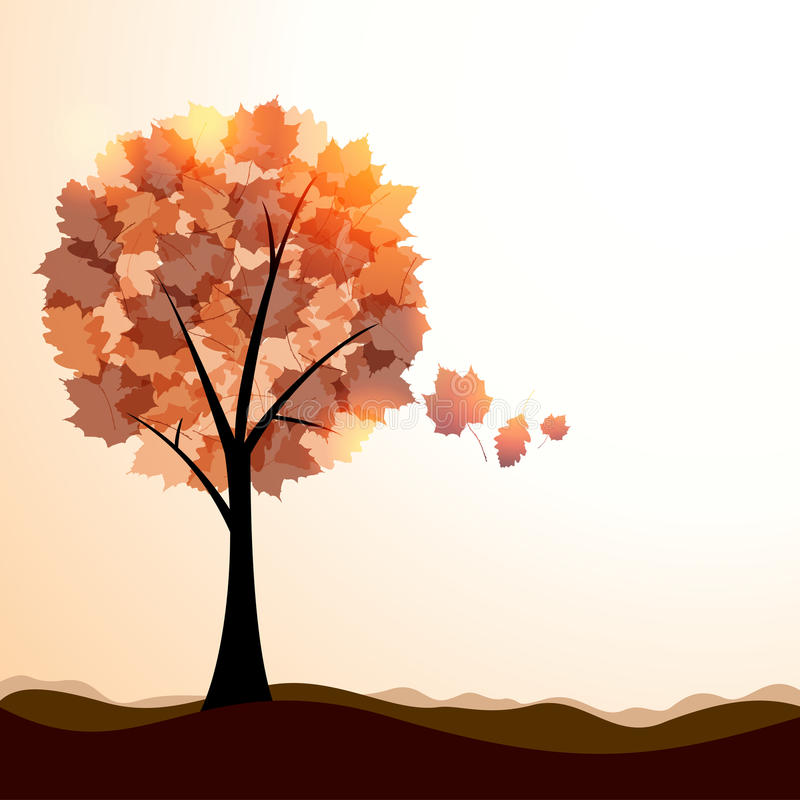 Download Artistic autumn landscape stock vector. Image of element - 25834691