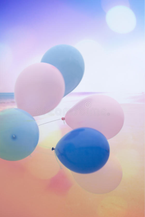 Artistic background with colorful balloons. And texture royalty free stock photos