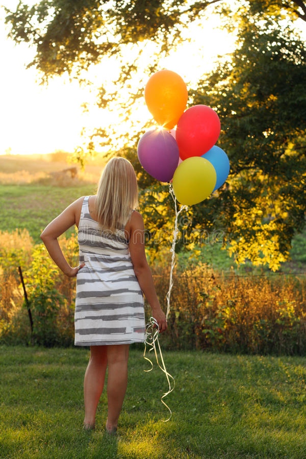 Download Artistic Backlit Teen Royalty Free Stock Photos - Image: 20961358