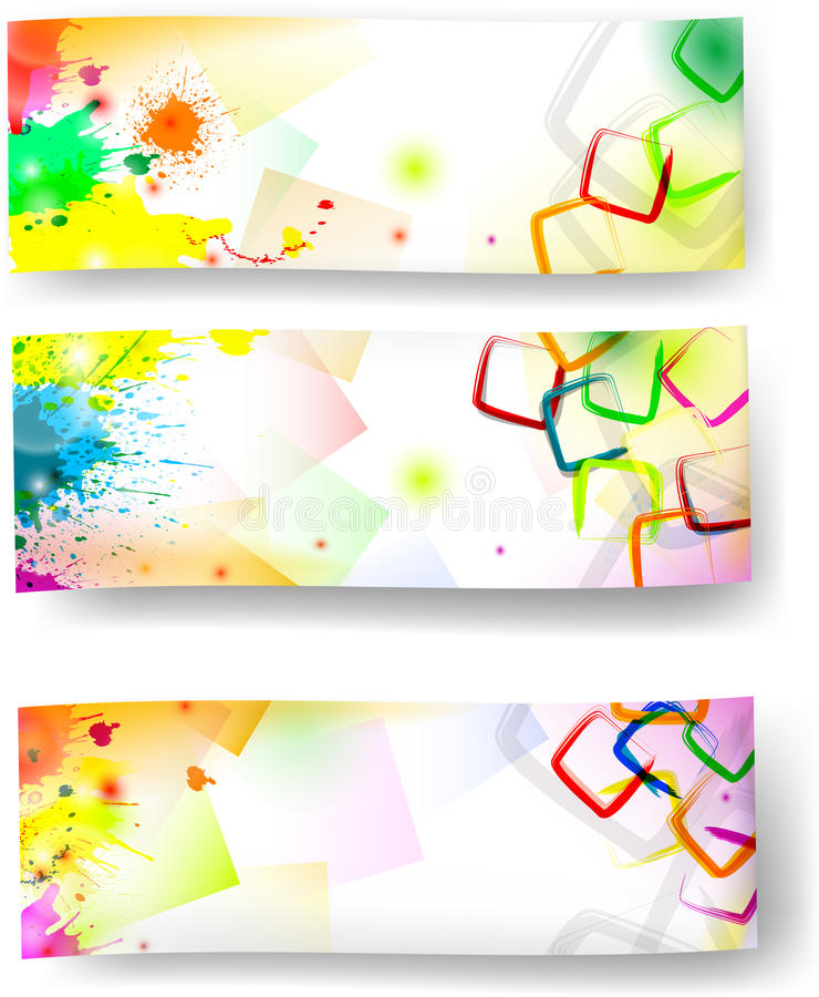 Artistic banners