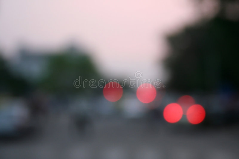 Artistic blurs and red blobs royalty free stock images